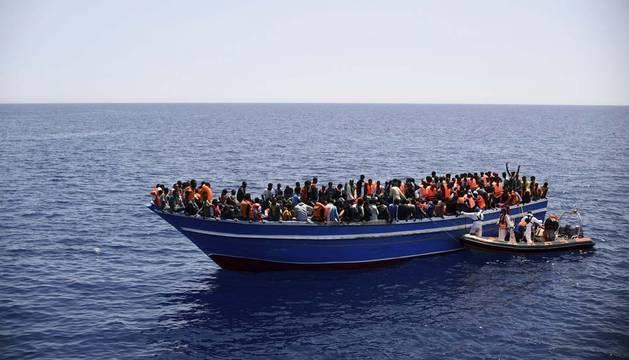 Italia, colapsada tras 43.000 inmigrantes llegados en este año
