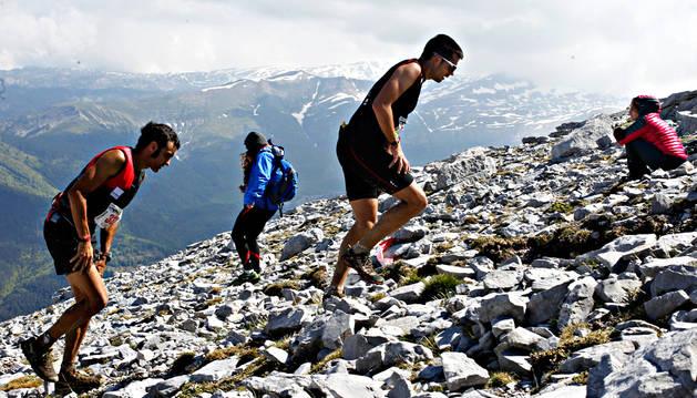 La subida y el descenso desde la Peña Ezkaurre, los puntos más emblemáticos de esta carrera.