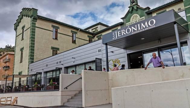 Residencia San Jerónimo, en Estella.