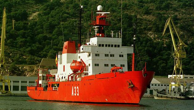 El Hespérides, rumbo a los fondos marinos del Cantábrico