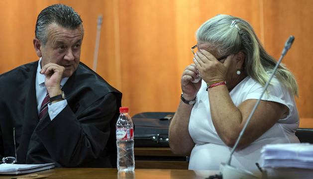 La mujer acusada de degollar a otra en Málaga.