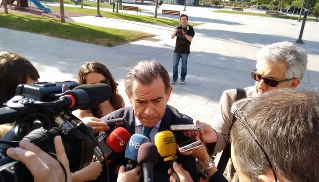 José Antonio Asiáin, expresidente de Caja Navarra.