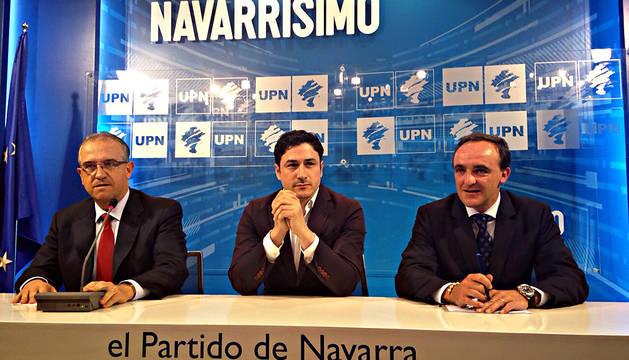 Esparza, Óscar Arizcuren y Enrique Maya.