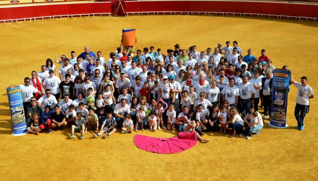 Día del socio de la Peña Lodosa por el Toro.