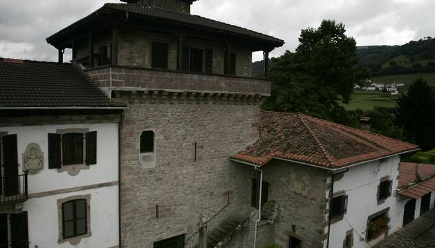 Palacio Jauregia de Irurita.