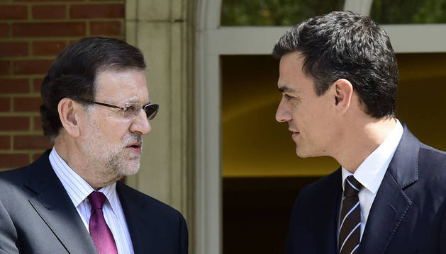 Mariano Rajoy y Pedro Sánchez.