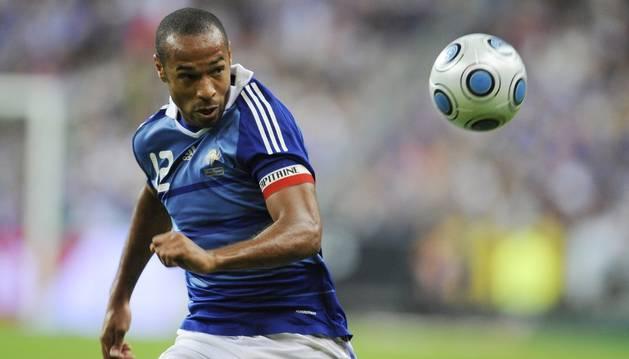Henry, en el partido contra Irlanda.