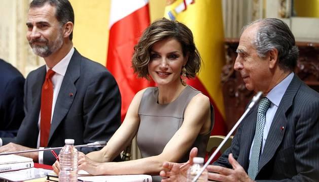 Visita oficial a Francia de los Reyes de España