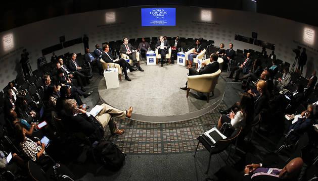 Imagen del Foro Económico Mundial, en Sudáfrica.
