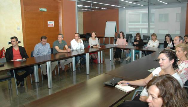 Participantes en la primera sesión de los talleres