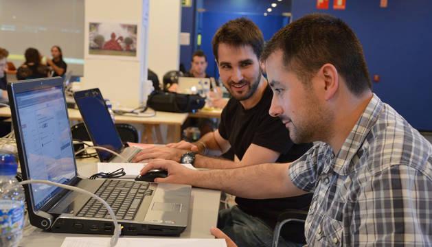 Participantes de la primera edición de #hacksanfermin.