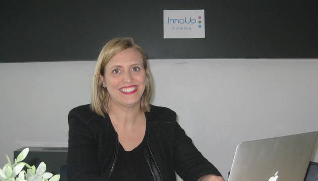Maite Agüeros, CEO de InnoUp Farma.