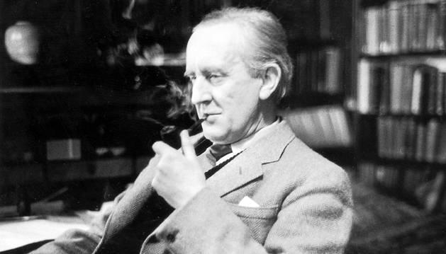 J.R.R. Tolkien, autor de 'El hobbit'.