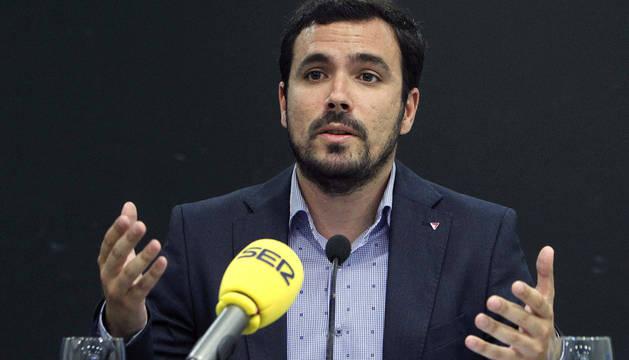 Garzón aboga por listas de unidad pero sin ser