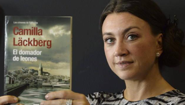 La exitosa Camilla Läckberg.