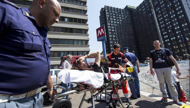 Al menos 12 heridos en un accidente en el metro de Roma