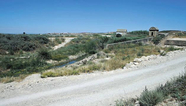 Imagen actual del barranco Santa Engracia.