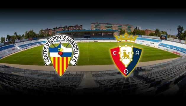 Retransmisión en directo del Sabadell-Osasuna.