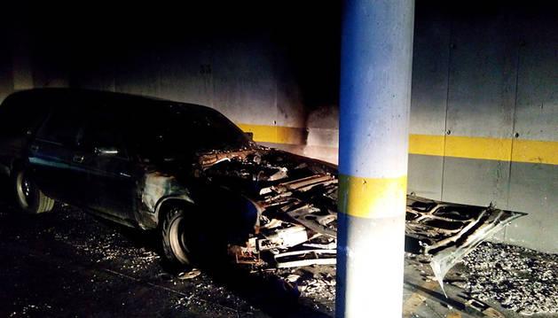 Sofocado un incendio en un garaje de Barañáin esta madrugada
