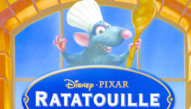 Cartel de 'Ratatouille'.