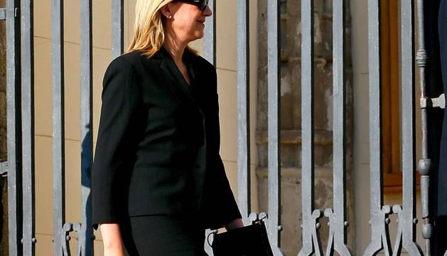 Reaparece la Infanta Cristina en Madrid