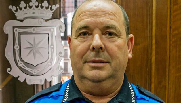 Miguel Ángel Remírez, ayer en el Ayuntamiento.