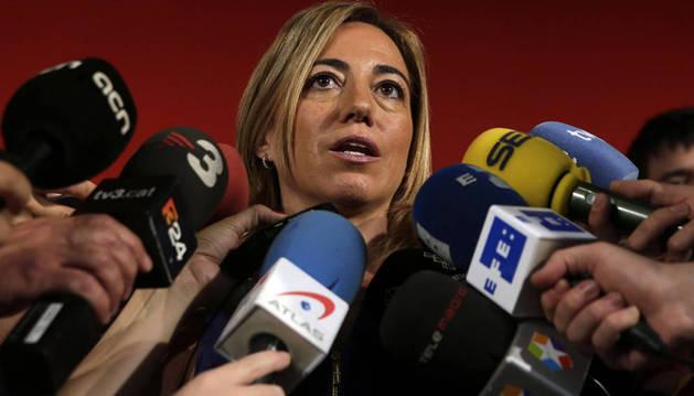 Carme Chacón se presentará a las primarias para liderar el PSC