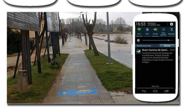 Información y avisos del Camino de Santiago en una aplicación gratuita