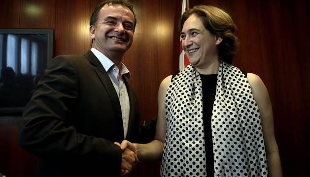 ERC apoyará a Ada Colau en Barcelona por