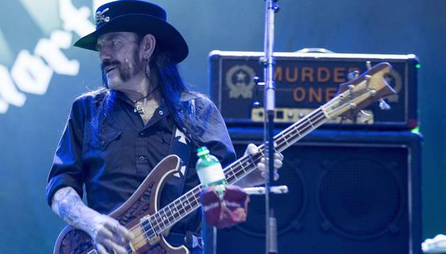 El músico Lemmy Kilmister.