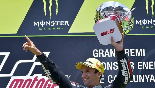 Zarco consiguió la victoria en Moto2.