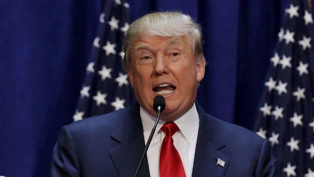 Donald Trump anuncia su candidatura.