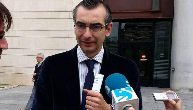 Sergio Gómez, abogado de Cervera.