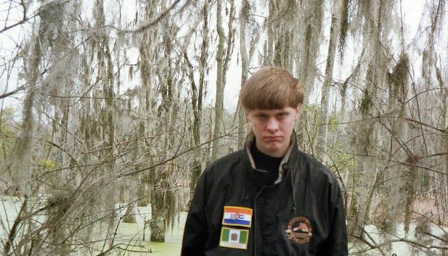Dylann Roof, el autor de la matanza en la iglesia de Charleston.