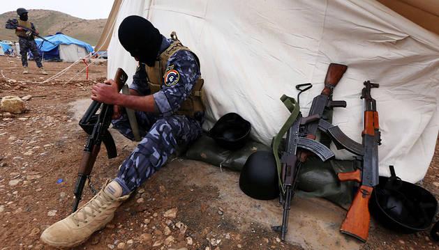El Ejército y las milicias locales se preparan para liberar Mosul