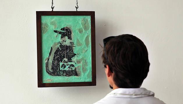 Sale a la luz la huella del grafitero Banksy en La Habana