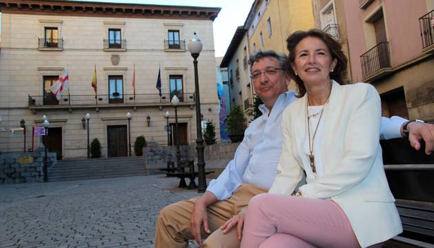 José Manuel Colio y Nieves Gutiérrez, Tudelanos Ausentes