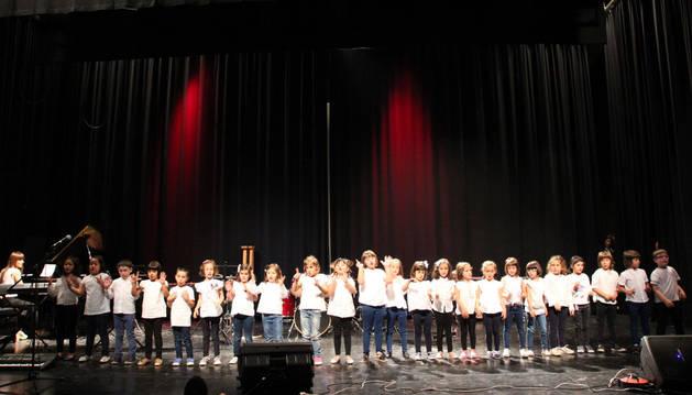 Festival de fin de curso de la escuela de música de Milagro