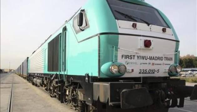 Madrid-Yiwu, la ruta ferrovial más larga del mundo