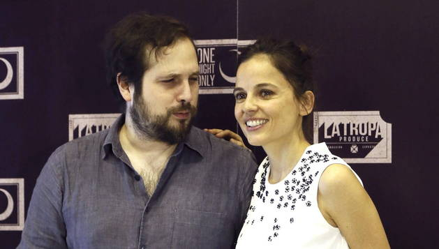 Carlos Vermut y Elena Anaya.
