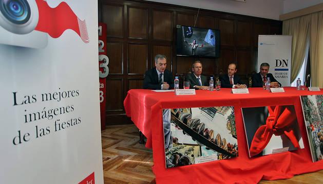 Presentación de la segunda edición del Concurso de Fotografía de San Fermín.
