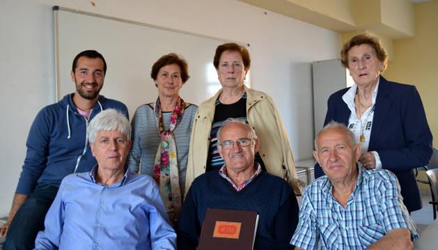 Algunos de los amigos de la Historia de San Adrián.