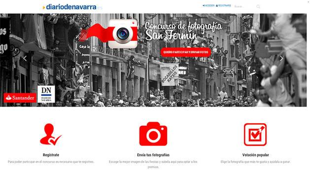 Diario de Navarra y Banco Santander buscan las mejores fotografías de San Fermín