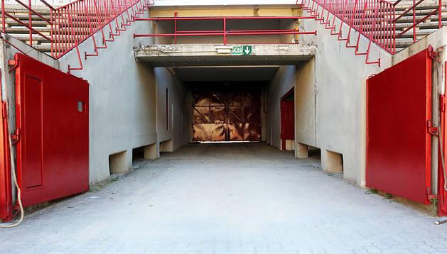 El callejón del encierro será el punto inicial de la visita.