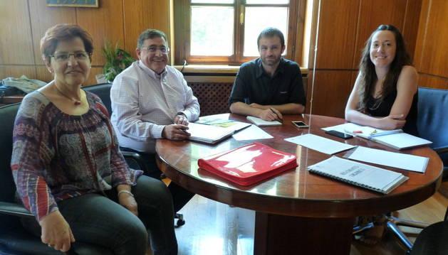 Bildu, Ahora y Geroa constituyen la Junta de Gobierno sin UPN y el PSN