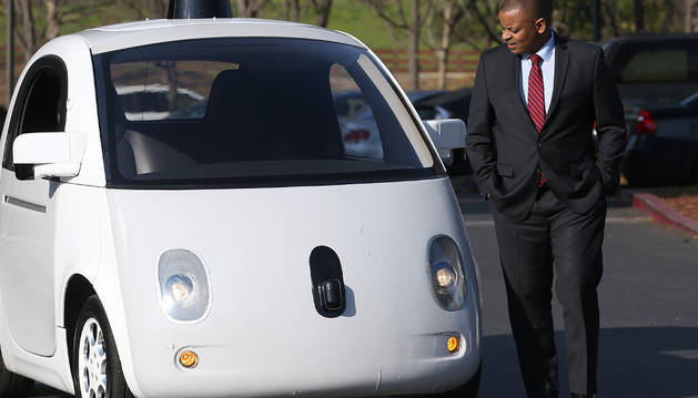El nuevo coche de Google.
