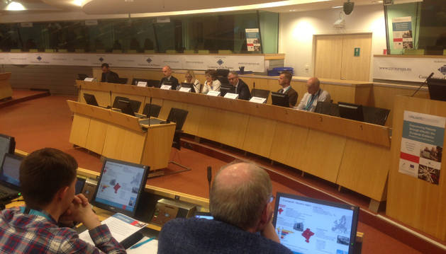 Ignacio Yurss, durante la presentación de la estrategia de crónicos y pluripatológicos en Bruselas.