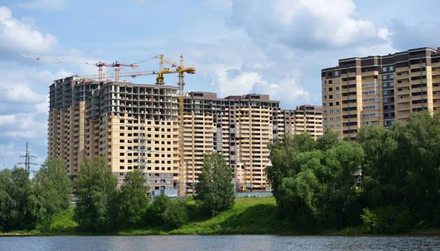 Viviendas de nueva construcción.