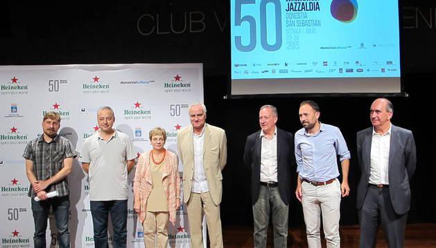 Presentación del documental #Jazzaldia50.
