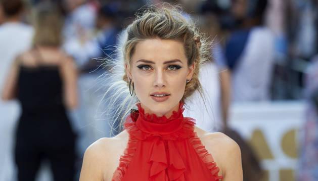 Amber Heard, en la presentación de 'Magic Mike XXL'.